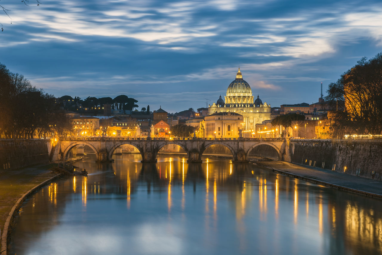 Beautiful stock photos of roma, Architecture, Beauty In Nature, Bridge - Man Made Structure, Building Exterior