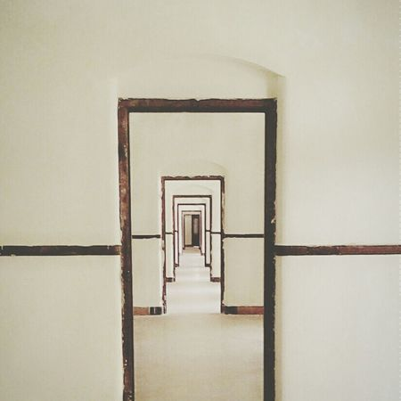 Lawang sewu, semarang. Endlessness People Photography Minimalism