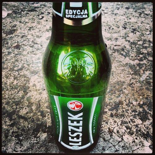 Leszek Lech Piwo Beer limited edition rozpoczecie wieczoru ;)