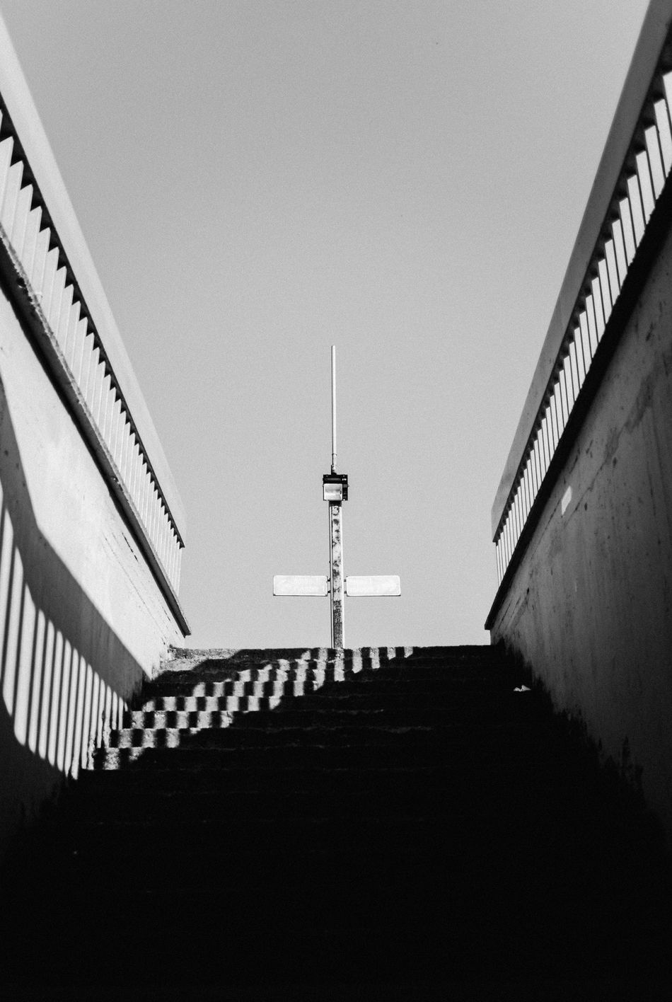 /// Architecture Building Exterior Built Structure City Day Eye4photography  EyeEm Best Shots EyeEm Gallery EyeEm Nature Lover EyeEmBestPics Light And Shadow No People Outdoors Shadow Shootermag Sky Stairs Travel Destinations Welcome To Black