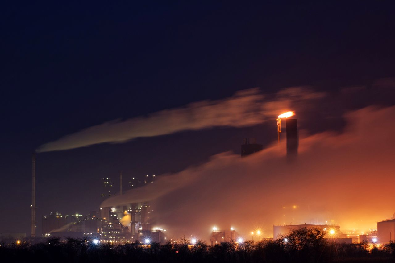 Industry Industrial Industrial Landscapes Industrial Photography Industrialbeauty Refinery Oil Refinery Night Night Lights Nightphotography Night Photography Chimney Chimneys