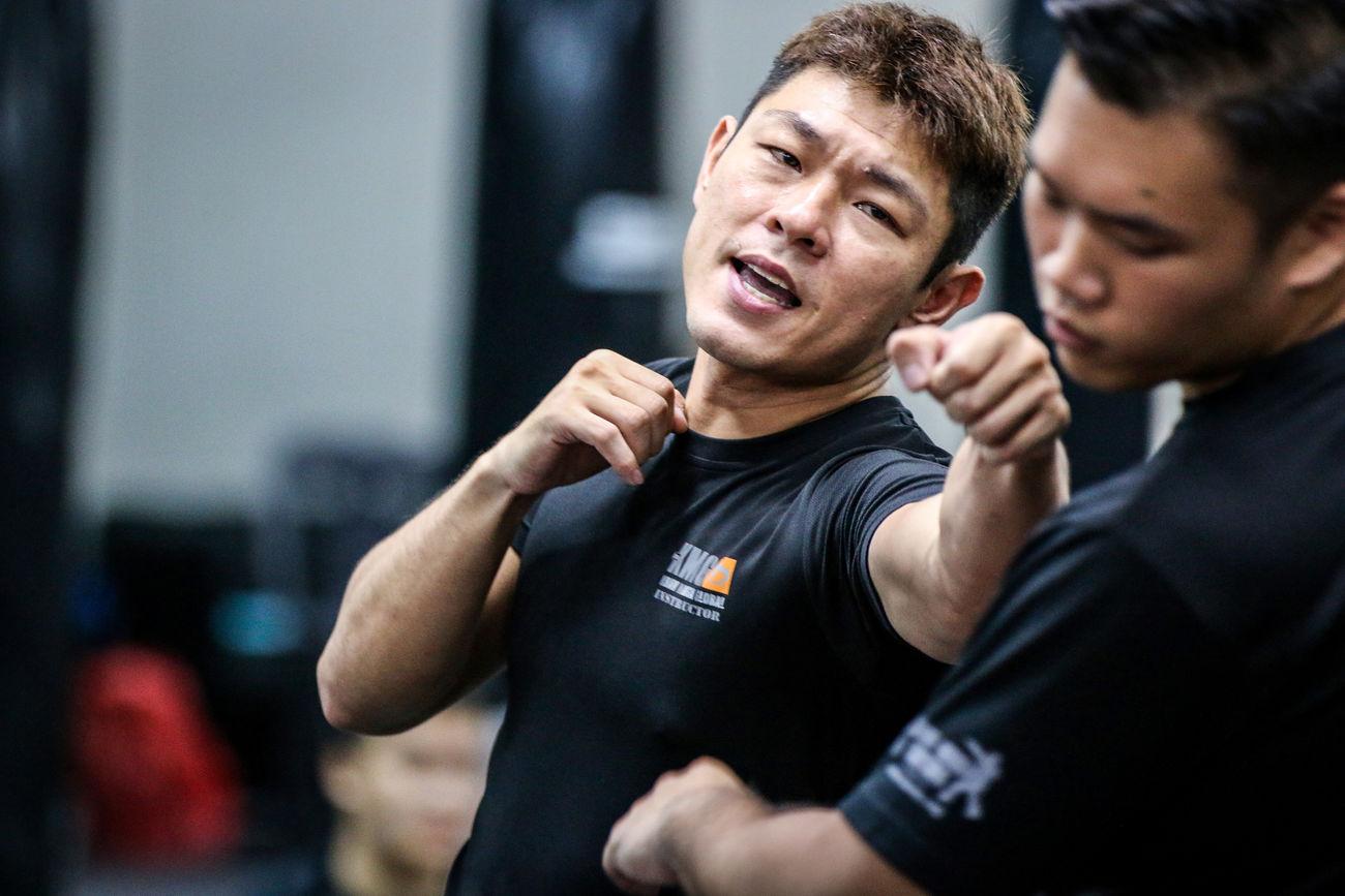 Boxing Editorial  Gym Krav Maga Self Defense Singapore Sports Sports Photography