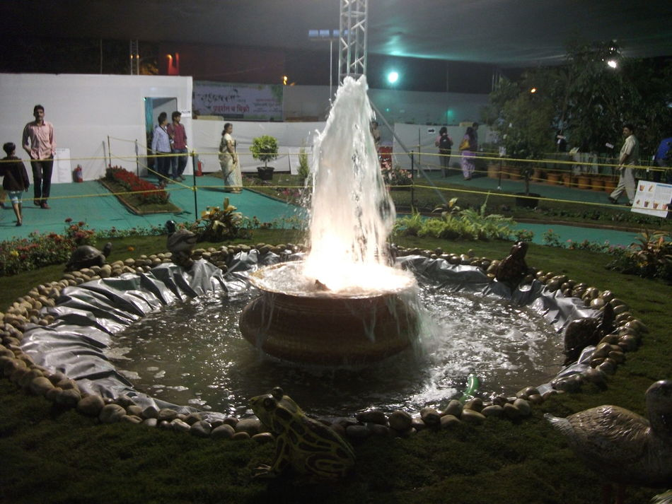 Night Light. Exibition Fountain Fun Nature Night Light Night Lights Water Surface Waterfall Waterfront