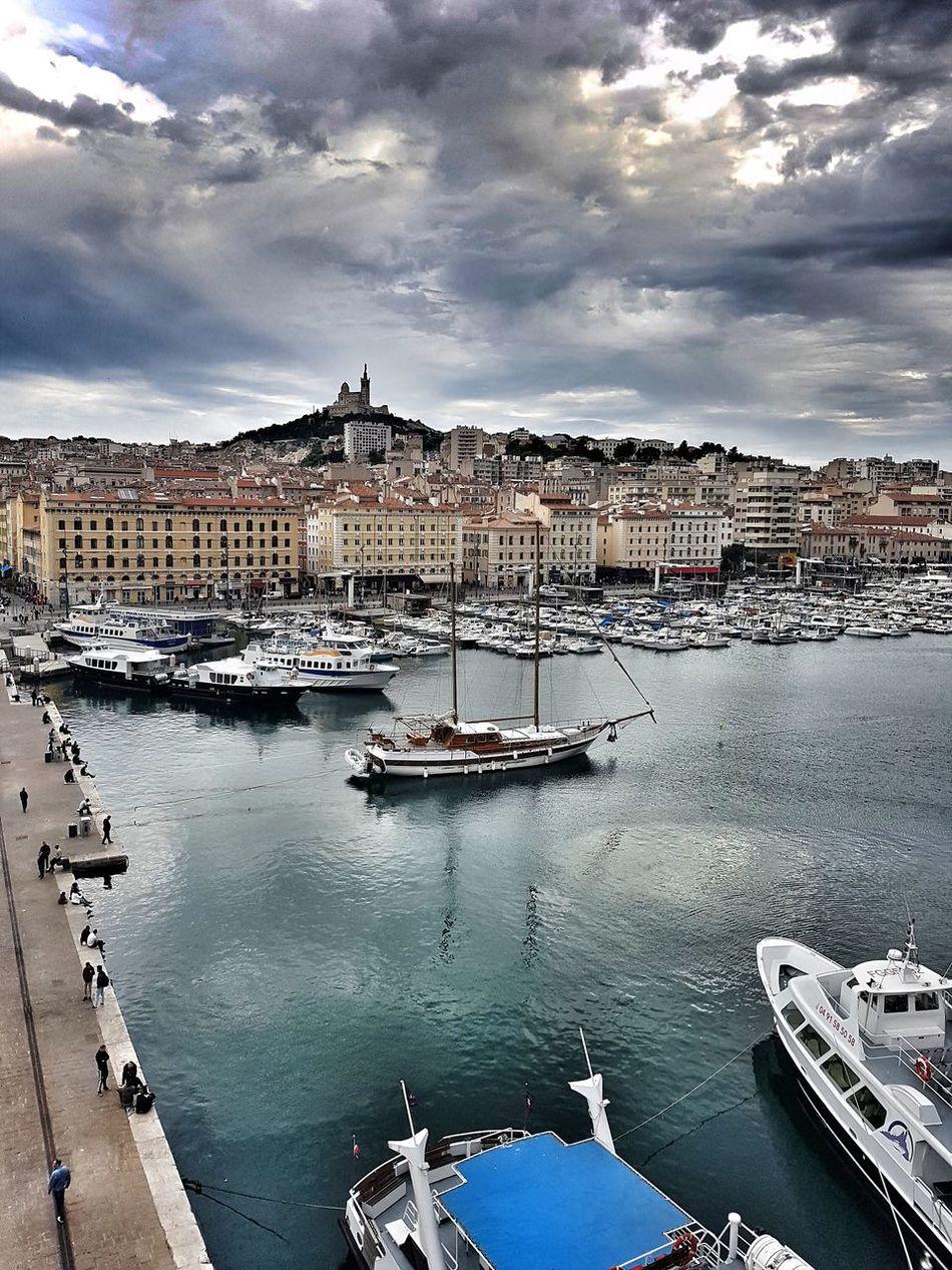 BonneMère Water Sky Outdoors Cloud - Sky No People Architecture Day Marseille