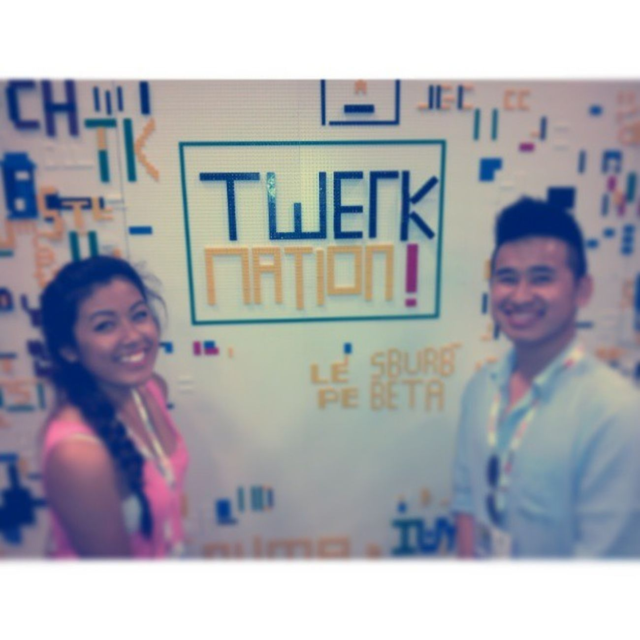 Still being ratchet with the nerds. Sdcc Twerkteam14