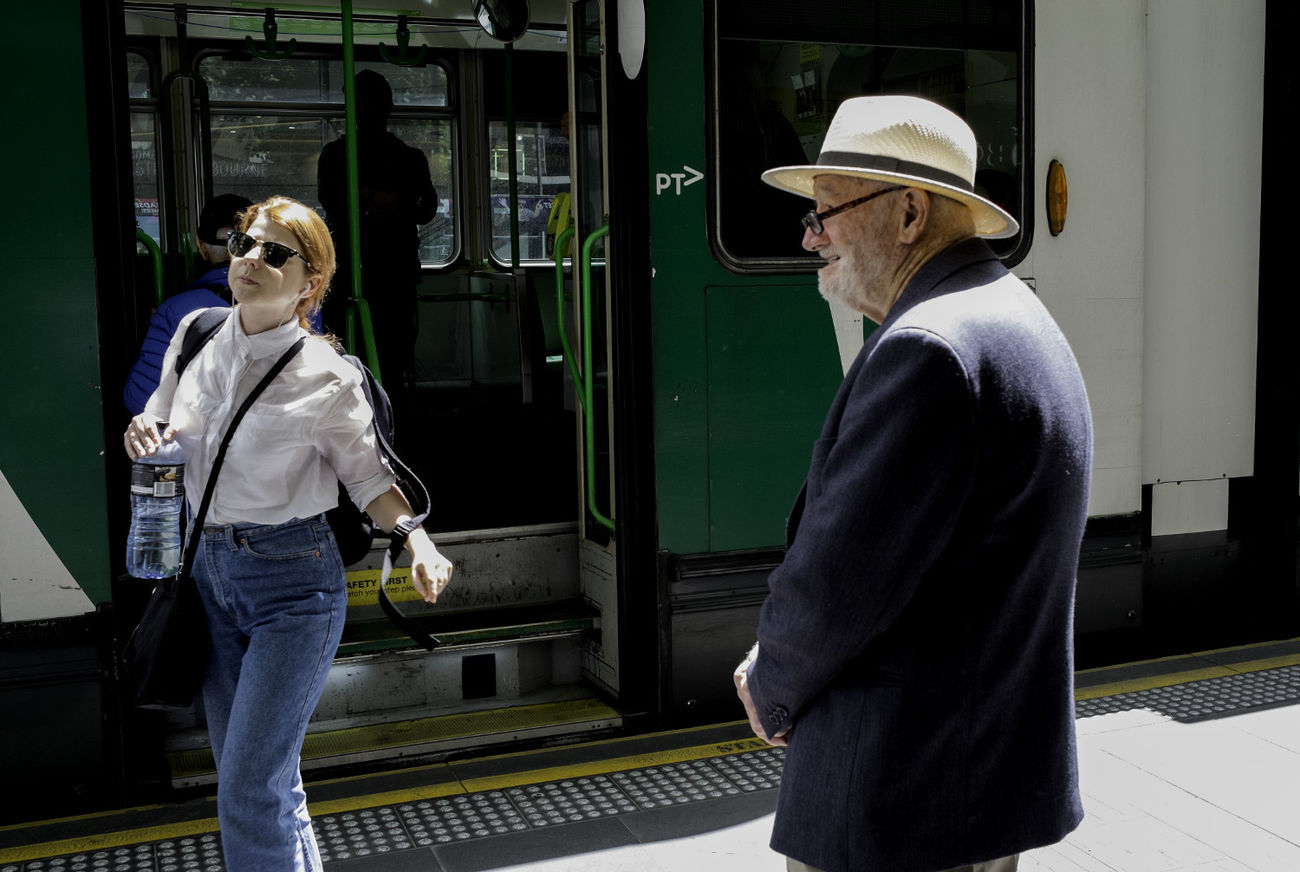 Street Streetphotography Melbourne Street Photography Athexphotographs Two People City Street Decisive Moment Urbanphotography
