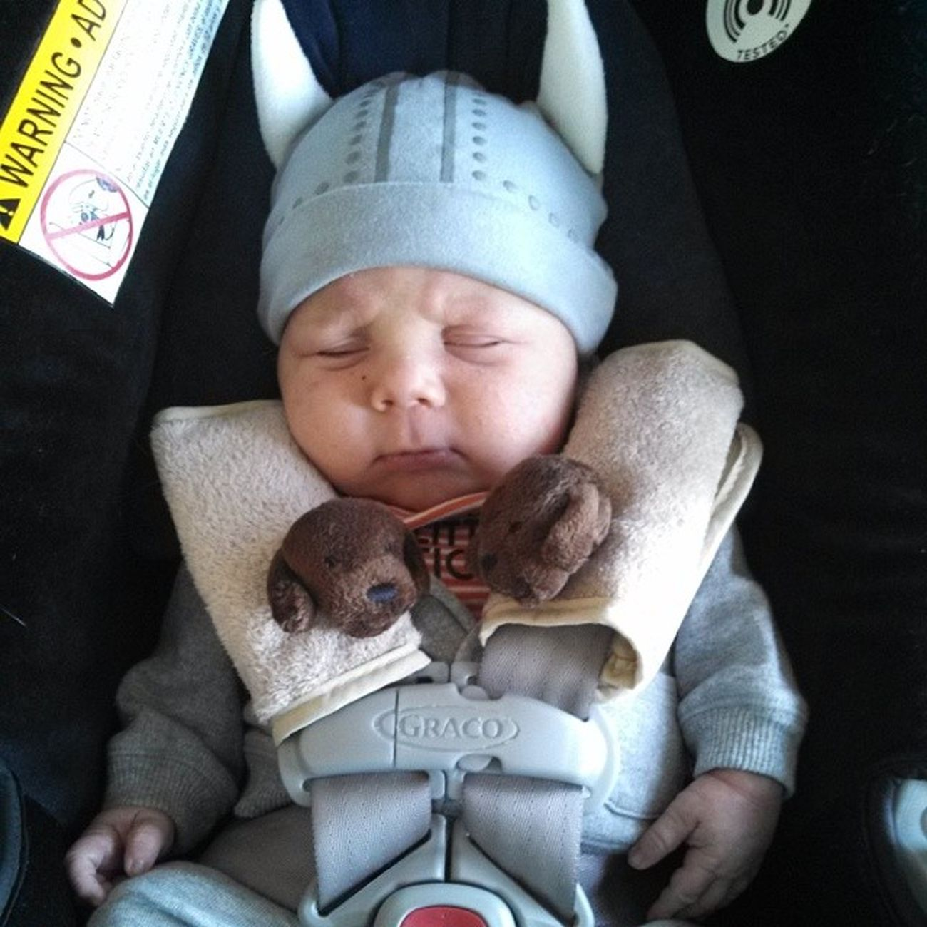 Most metal viking baby ever