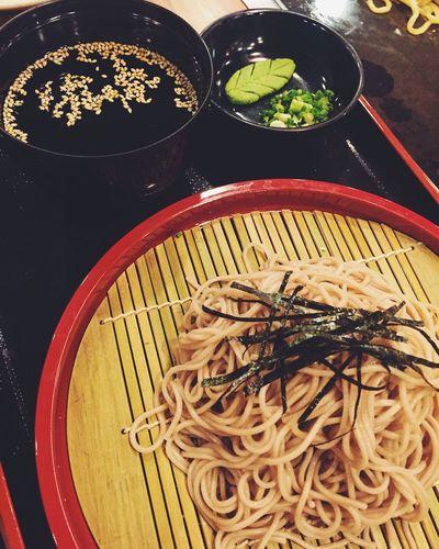 Japanese Food Soba Foodspotting Foodstagram Foodgasm Foodie Foodphotography Foodporn Cold Noodles Buckwheat Noodles