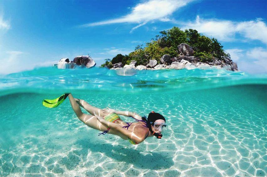 Water Swiming Enjoying Life