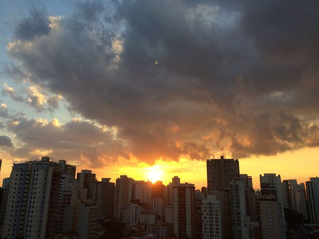 sao paulo BRAZIL 2016 Architecture Building Building Exterior Built Structure City City Life Cityscape Cityscapes Cloud Cloud - Sky Cloudy EyeEm Team Modern No People Office Building Orange Color Outdoors Residential Building Residential District Sky Skyscraper Sun Sunset Tall - High Urban Skyline