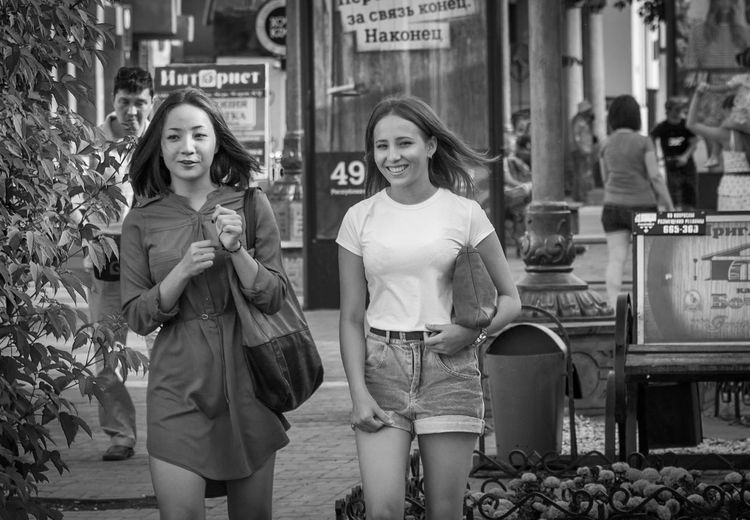 ONE MORE GOOD DAY Ulan-Ude Streetphotography_bw Streetphoto_bw Black And White Portrait Street Portrait Blackandwhite Street Photography EyeEm Bnw Eyem Best Shots - Black + White Black & White