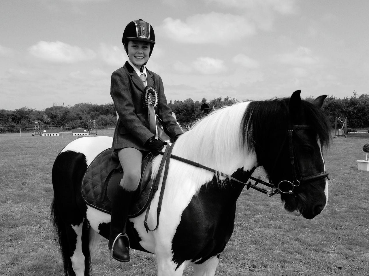 Horse Show Show Day Bridle Outdoors Countryside One Animal Full Length Horse Sunshine Mammal Riding Sitting Bridle