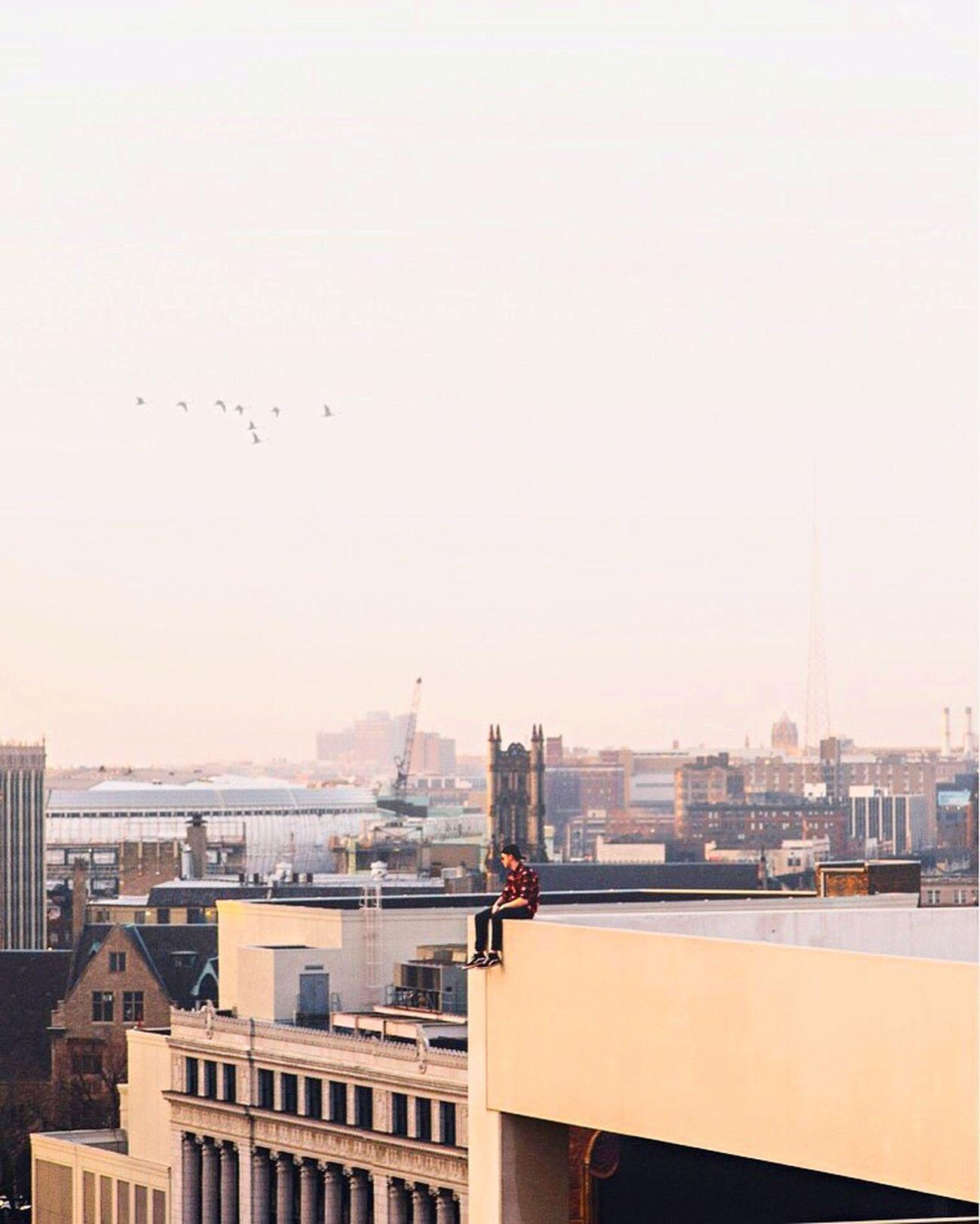 The City Light City Sky & Cityscapes. City Architecture Sunrise Morning Morning Light Skyline Roof Rooftop Sky