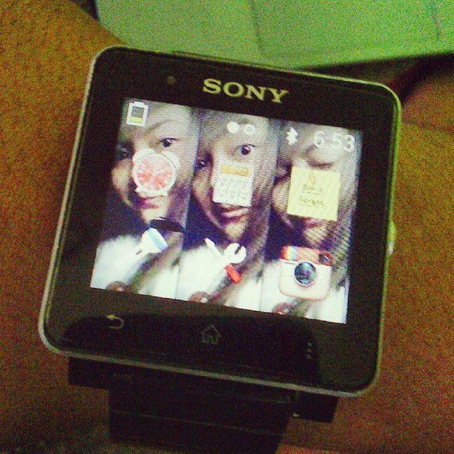 Hindi ko man sya makita araw araw, titingin lng ako sa relo ko para kuna din syang nakita :D :P Wallpaper Chubz Sony Smartwatch2