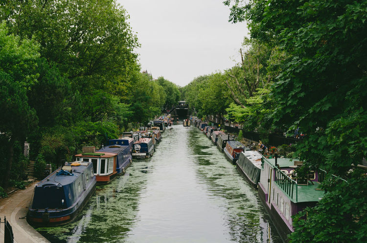 Day Lake Little Venice London Mode Of Transport Nature Nautical Vessel No People Outdoors Paddington Sky Transportation Tree Water First Eyeem Photo