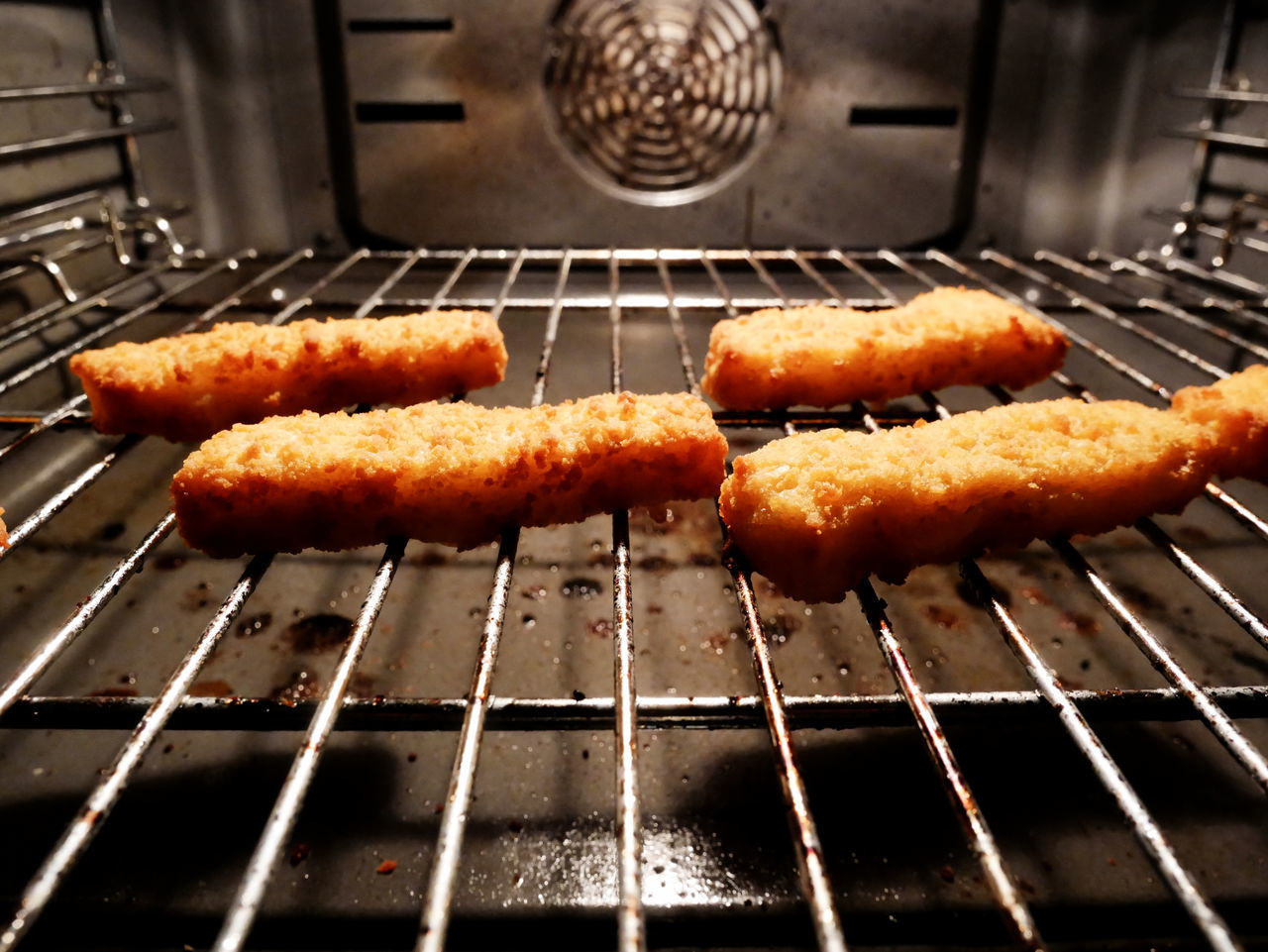 Baking fish fingers Baked Fish Fischstäbchen Fish Fish Fingers Food Food And Drink Germany Grilled High Angle View No People Oven Preparation  Ready-to-eat Seafood