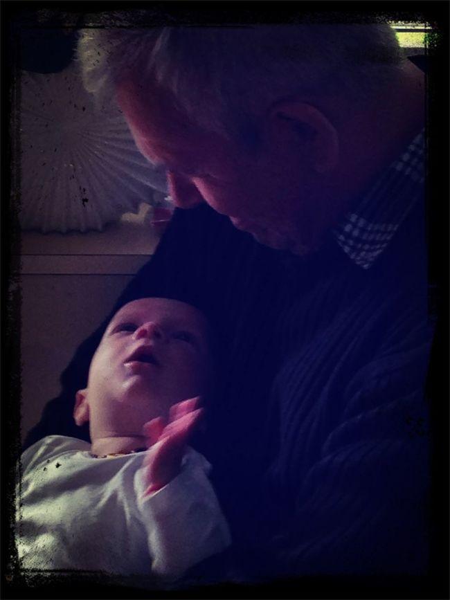 Deda Und Samuel!
