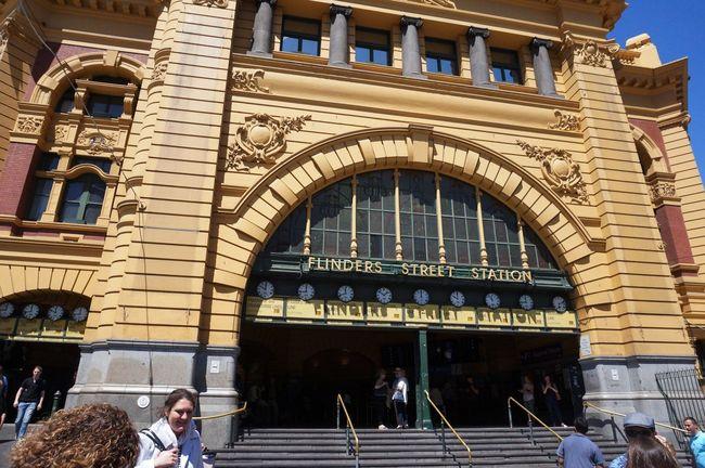 Architecture Famous Place Flinders St #Melbourne Flinders Street Station Melbourne Melbourneiloveyou Melbournephotos Touring Melbourne