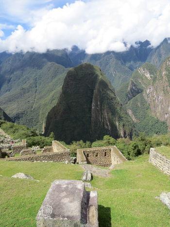 Beauty In Nature High Angle View Inca Inca Trail Incan Ruins Machu Picchu Majestic Mountain Mountain Peak Peru Ruins Tranquil Scene Travel The World