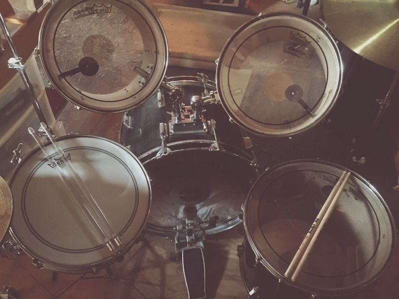 No People Drums Drumsticks Drumset Drum And Bass Drumkit Drum Drumstick Drum Kit Drum Sticks Music Is My Life Musical Instrument Music Photography  Music