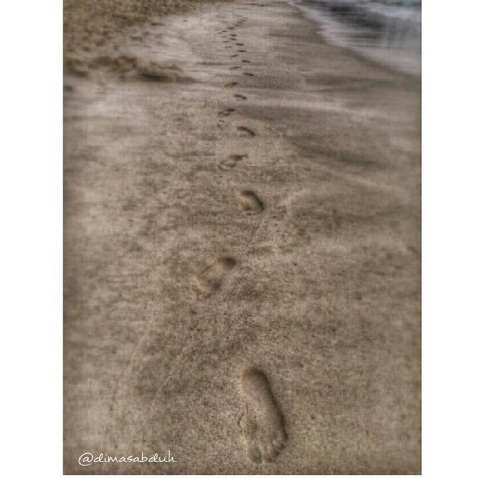 Instaandroid Instadroid Photooftheday Pictoftheday Beach Sand Instadaily Footsteps Footprints Lampuukbeach Aceh Acehbesar BandaAceh