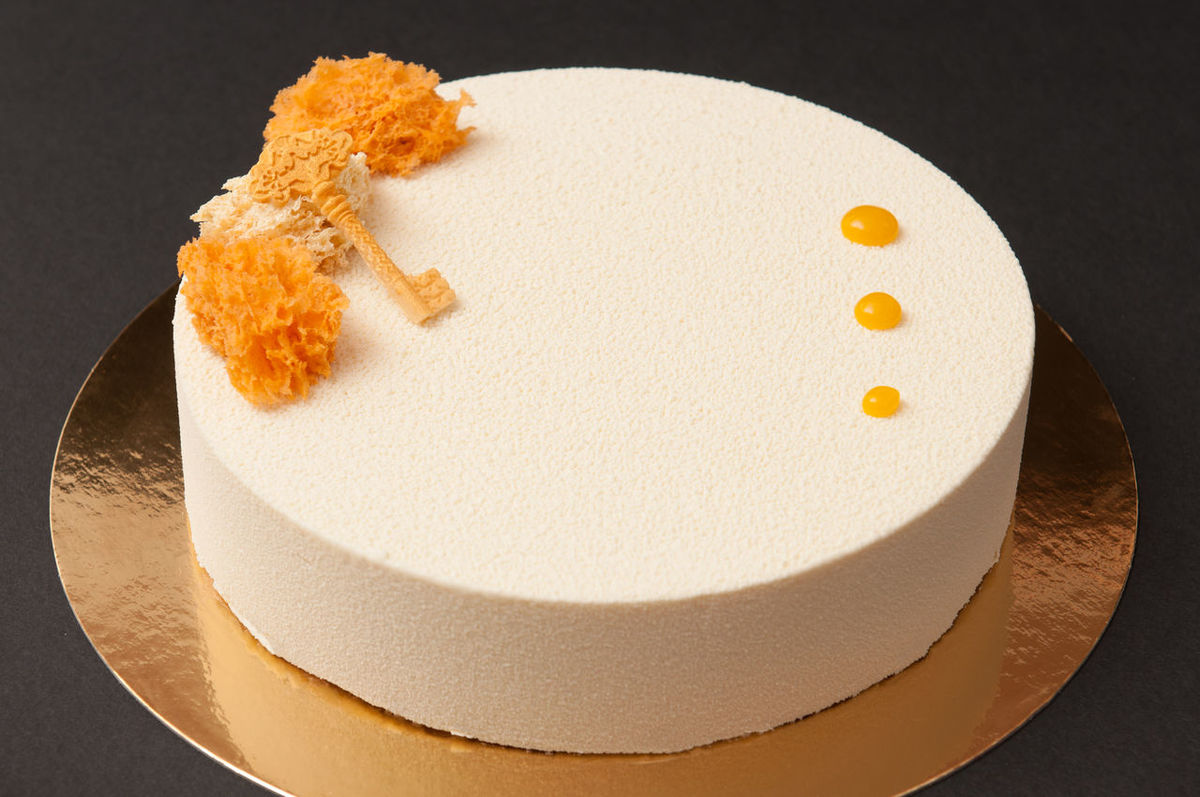 Sponge Cake With Jelly Layer