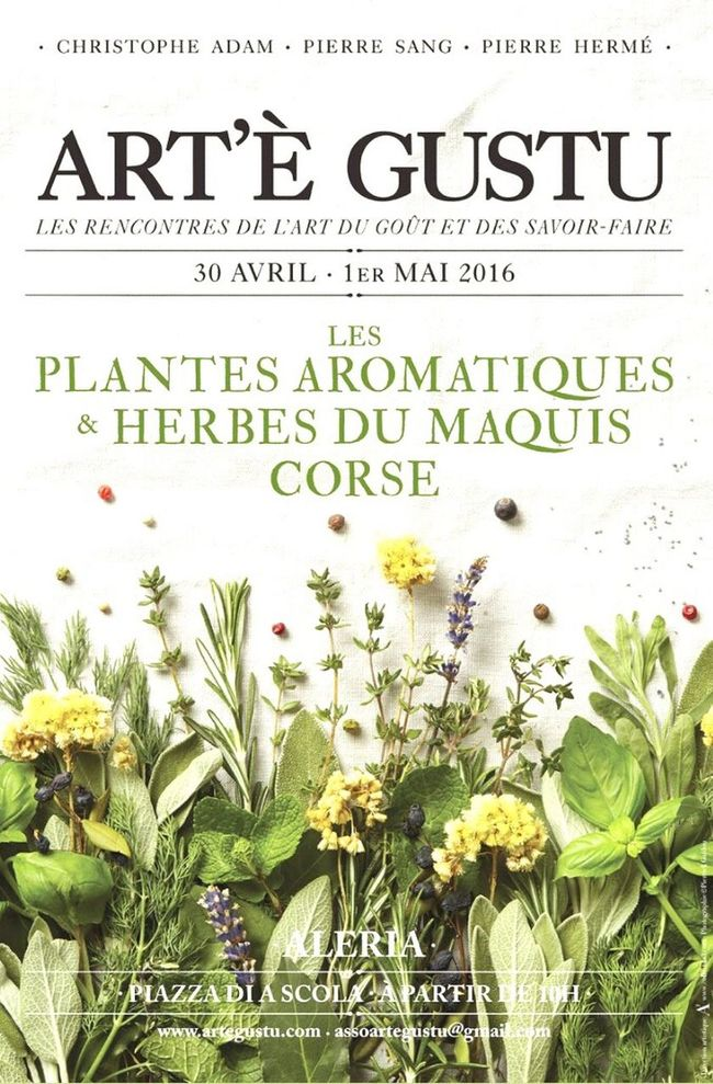Aleria Artegustu Gastronomy Foodlovers Plants And Flowers Aromaticherbs Festival Corsica