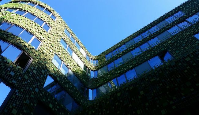 Resortlife Building Exterior Design Green Wall Wellness Relaxation Vacation Time Architecture