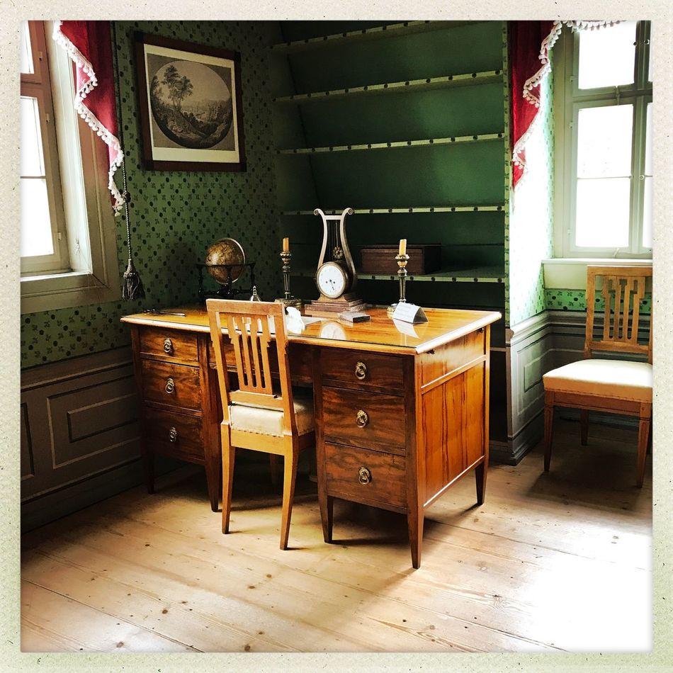 Schillers Schreibtisch in Weimar