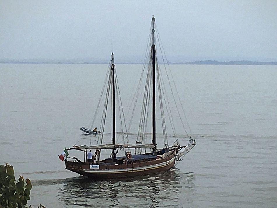 Italy🇮🇹 Bardolino Leaving Home Fresh On Eyeem  Special👌shot Fine Art Photography Garda Lake Garda EyeEm Best Shots Sailboat Boats⛵️ Water Lake View Water Reflections Sea_collection