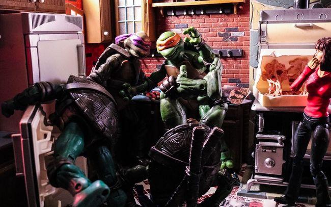 Tmnt Teenage Mutant Ninja Turtles  Secret Of The Ooze Turtles playmates Playmates