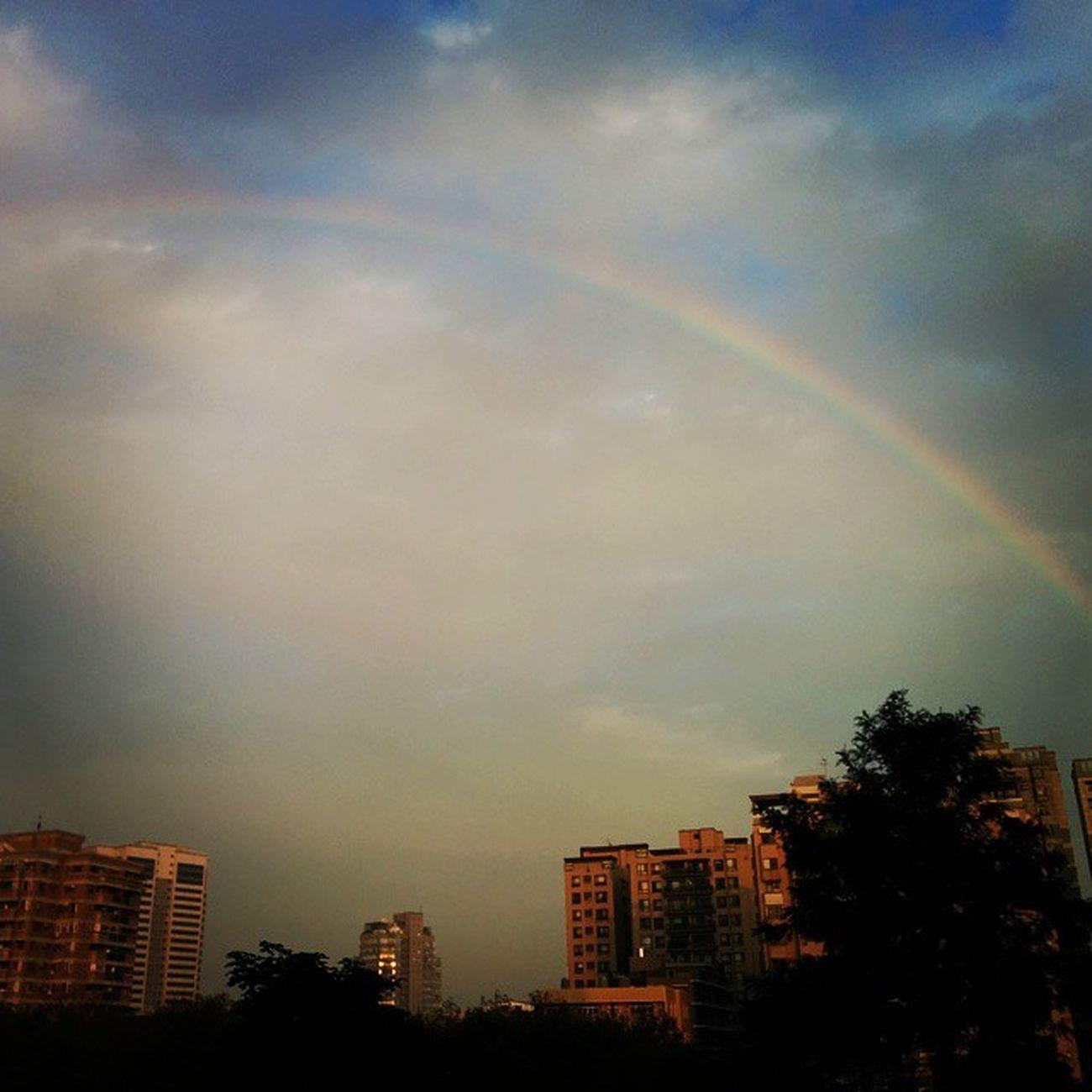 第一次在學校看到彩虹 Tunghai Rainbow