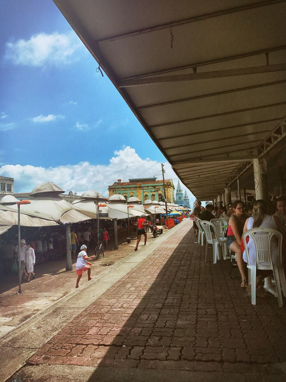 Real People mercado Belém Amazônia Brasil Ver o Peso Architecture City Outdoors Tourism