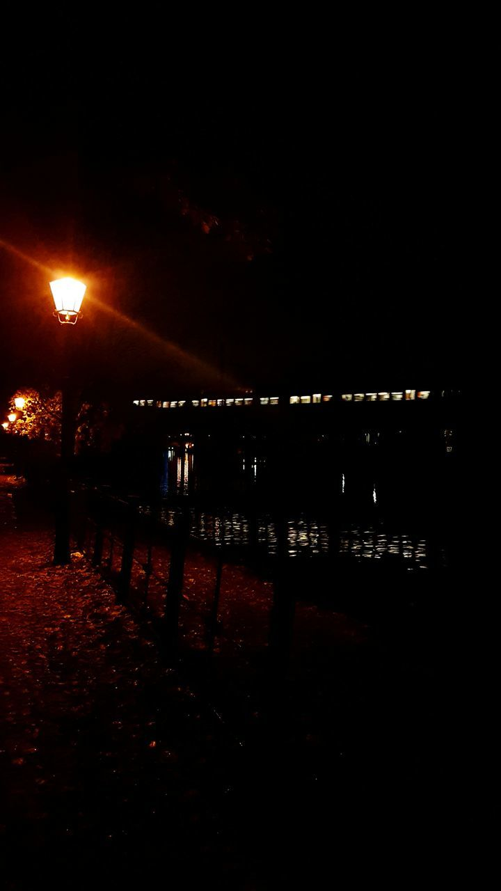 night, illuminated, dark, outdoors, no people, sky