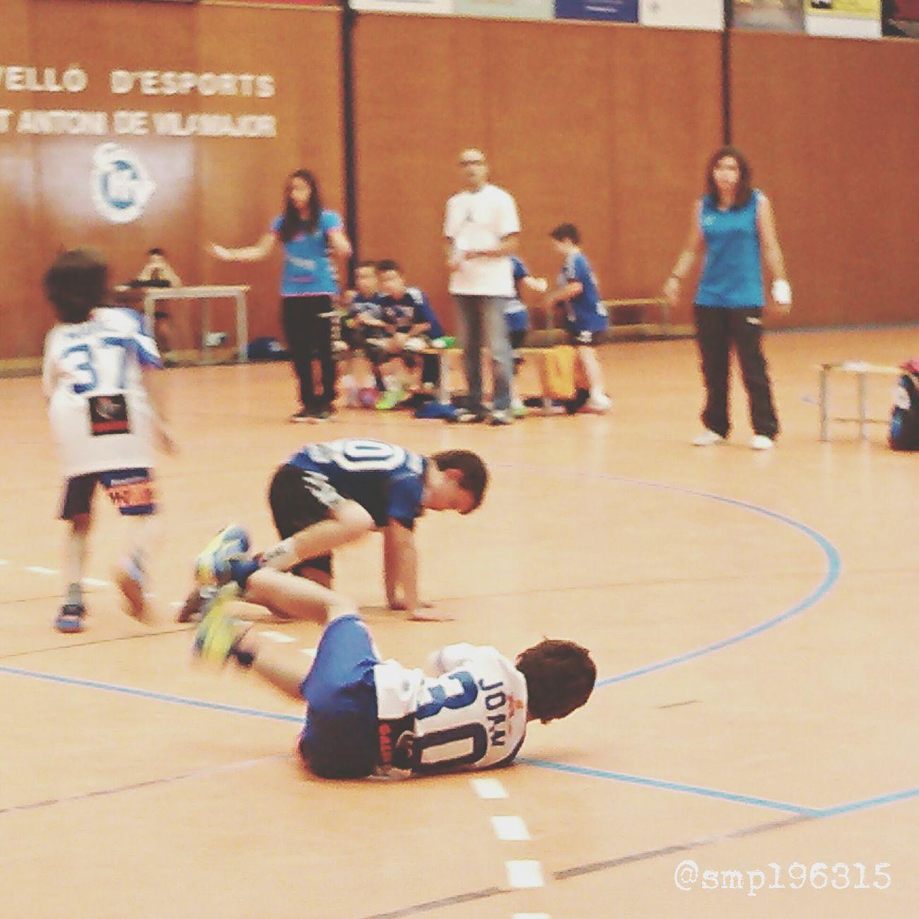 Handball Santantonidevilamajor vs Granollers prebenjamín 13/15. Igersvoriental