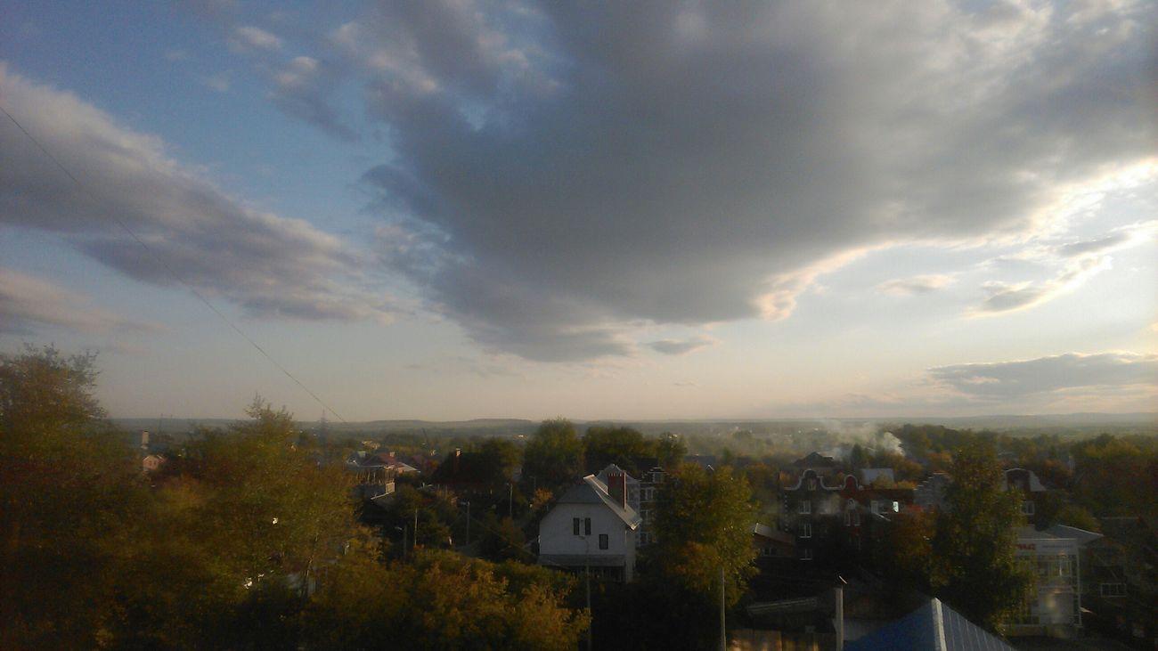 В городе осень Perm' Пермь
