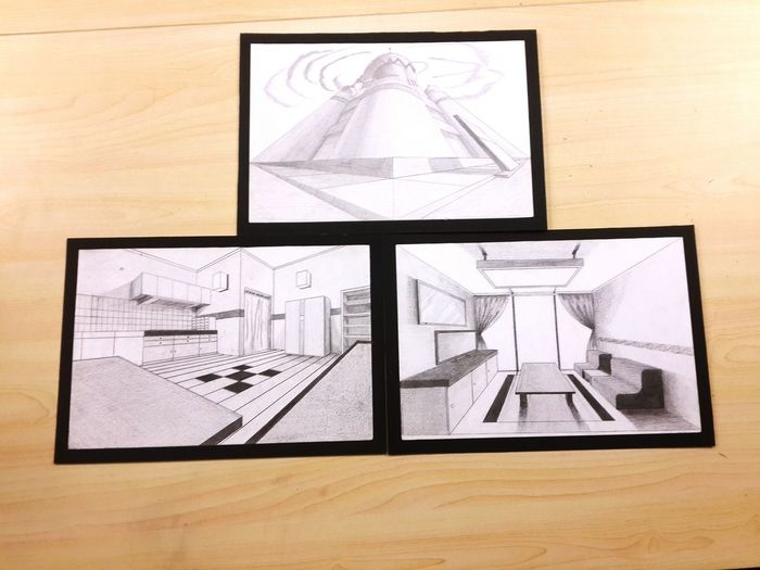 Perspective Drawing Art Perspective Rare
