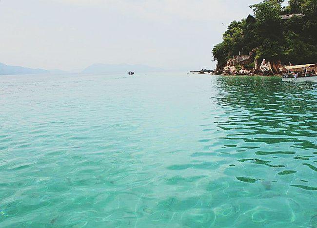 Somewhere beyond the sea Nationalpark Mochima Venezuela Hello World Sea
