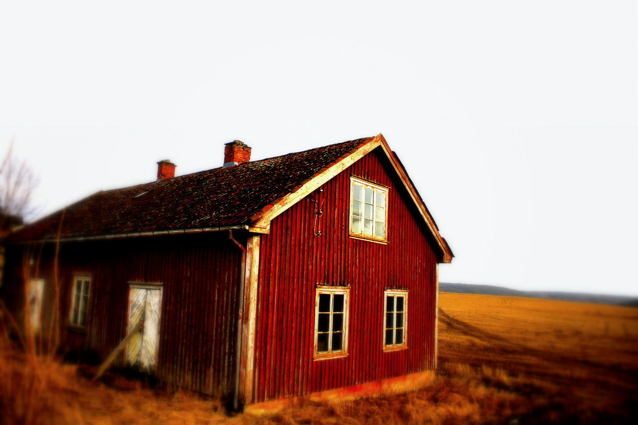 Almost Spring Country Life Countryside End Of Winter Farm Field Halden Halden, Norway House Landscapes With WhiteWall Nature Nature Photography Nature_collection No People Norway Outdoors Red Rural Rural Scene Solitary Warm Colors