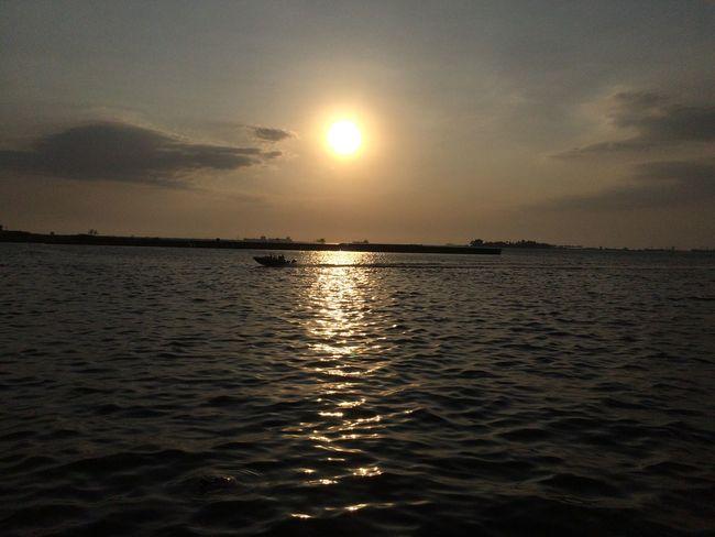 Losari Beach Sunset First Eyeem Photo