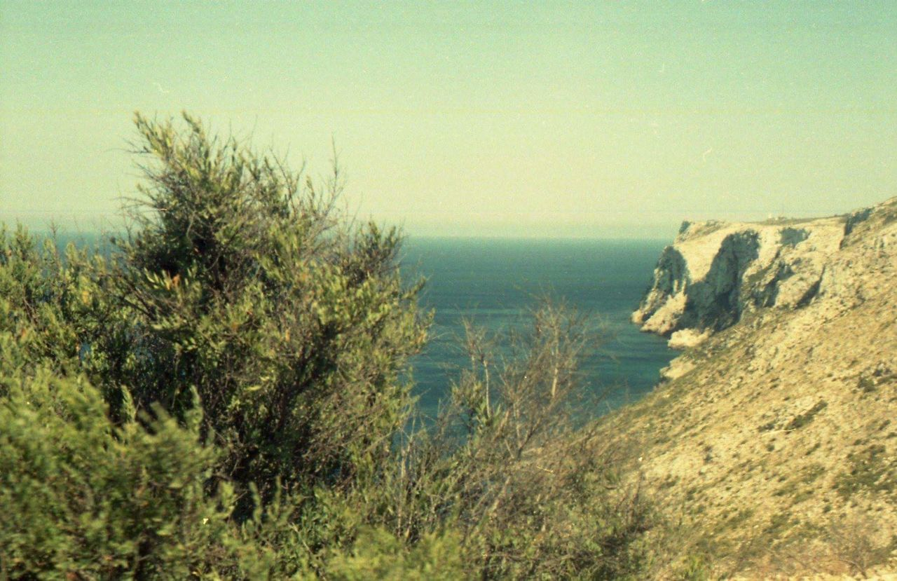 cova tallada Denia sea sun wild nature argentique Horizon Over Water Tranquility No People Denia Filmphotography 35mm Film Colorfilm Nofilter Cliffs Sea And Sky SPAIN