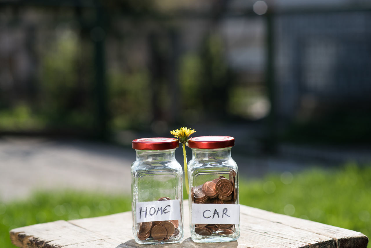 Banking Coins De Deposit Jar Lifestyles Money No People Safe Savings Savings = $$$ Valuable Value