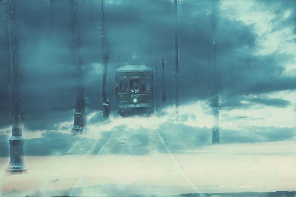 Unrealistic Unrealistic Cloud Clouds Train Spooky Spooky Atmosphere Fog Foggy Winter Mystery Mysterious Mystical Book Cover Photoedit Break The Mold