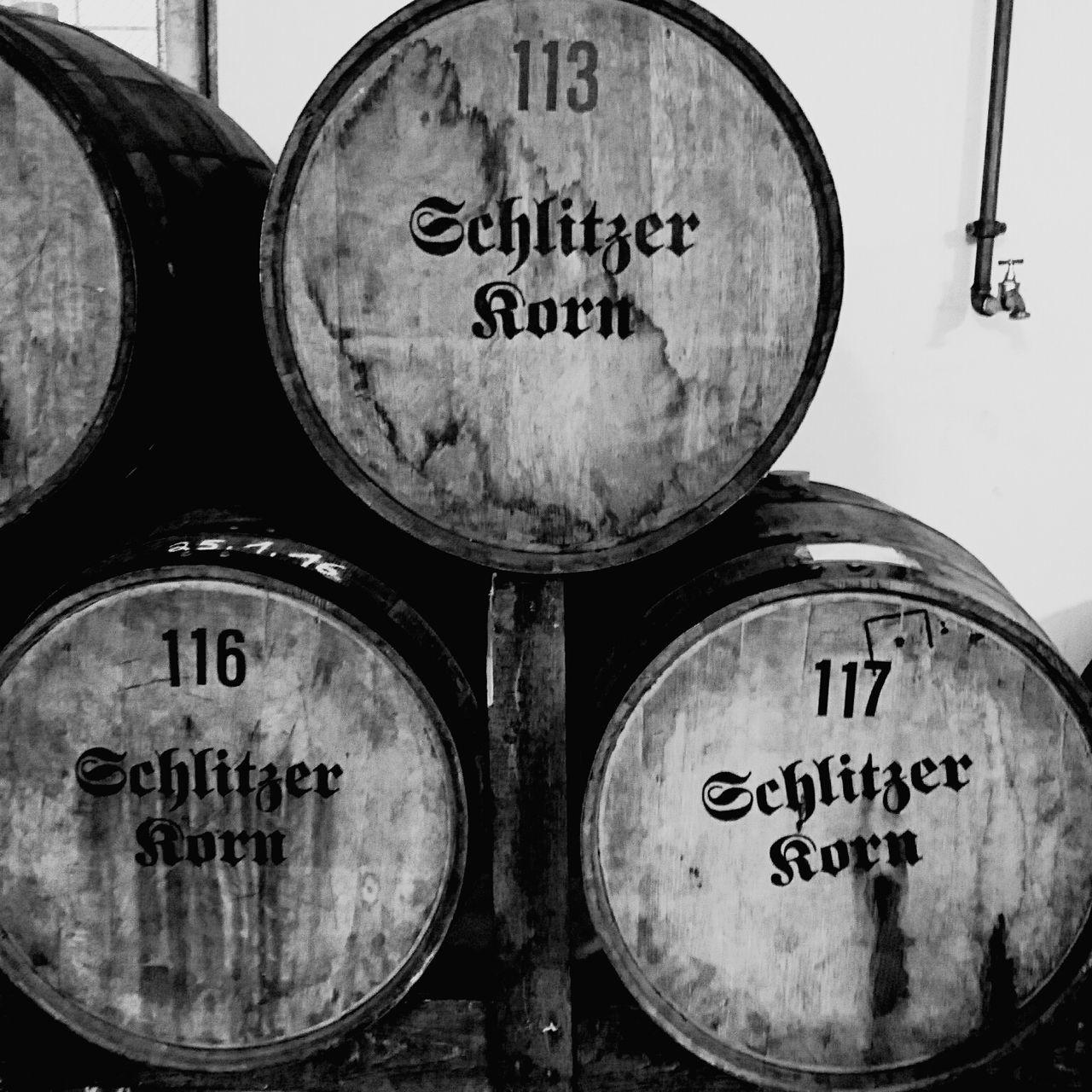 Schlitz Korn Schnaps Beverage Cask Fass Destillery
