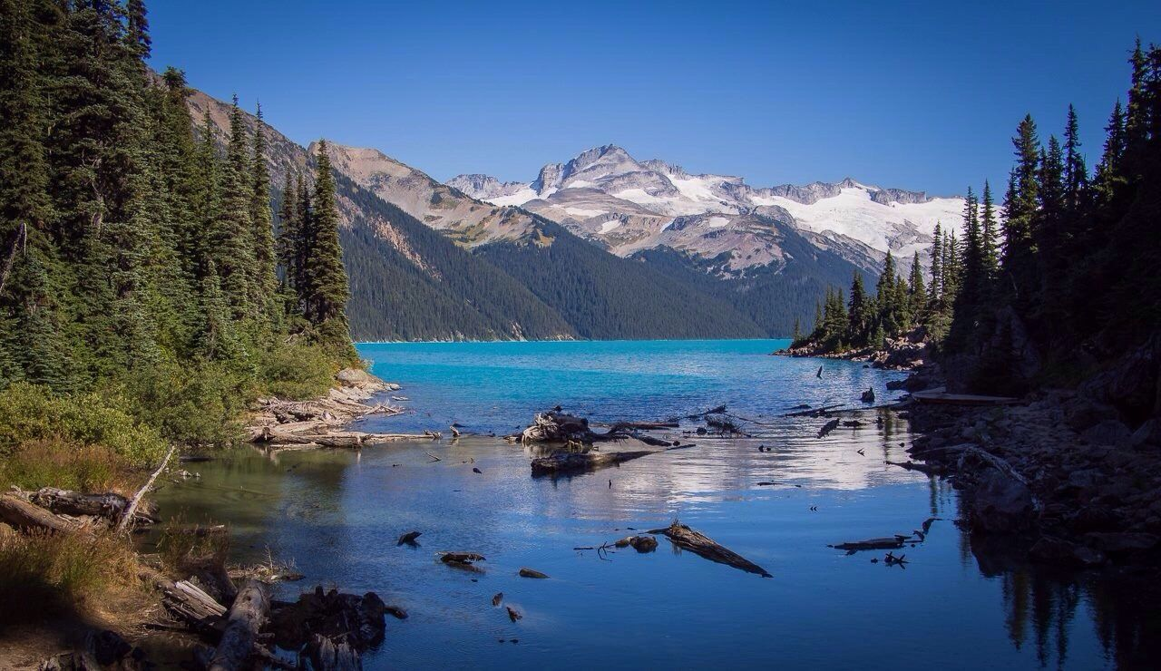 Britishcolumbia Canada Nature Lake