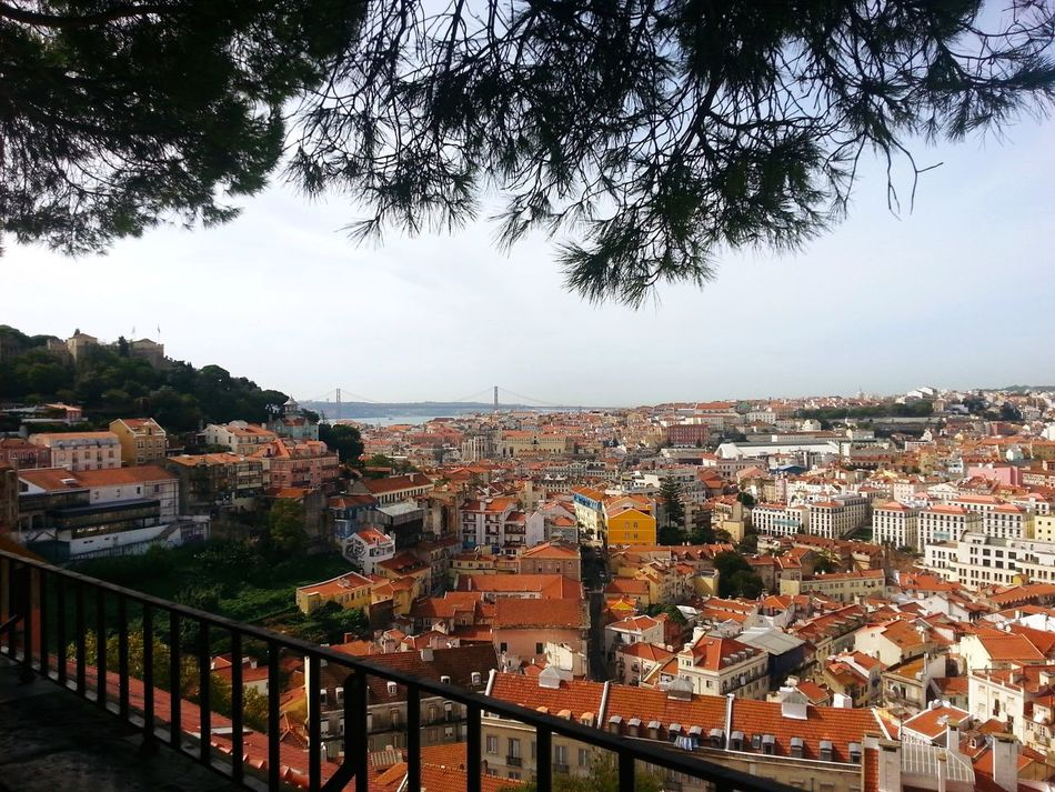 Travelling City Lissabon Lisboa Seightseeing View
