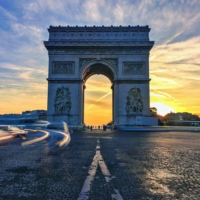 Good Evening Paris! Bonne Soirée! Sunrise Sunrise_Collection Paris Historical Sights Eyem Best Shot - Architecture Architecture