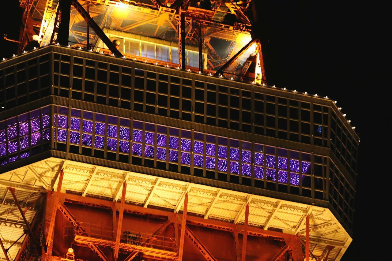 Illuminated Night Nightscape Nightview Lights Tokyo Nightphotography Japan Tokyotower Tower Observatory