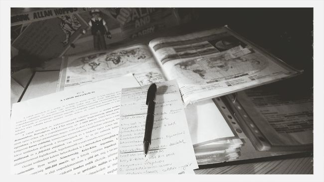 Mission fckn' impossible Maturaexam Exams Studying Blackandwhite