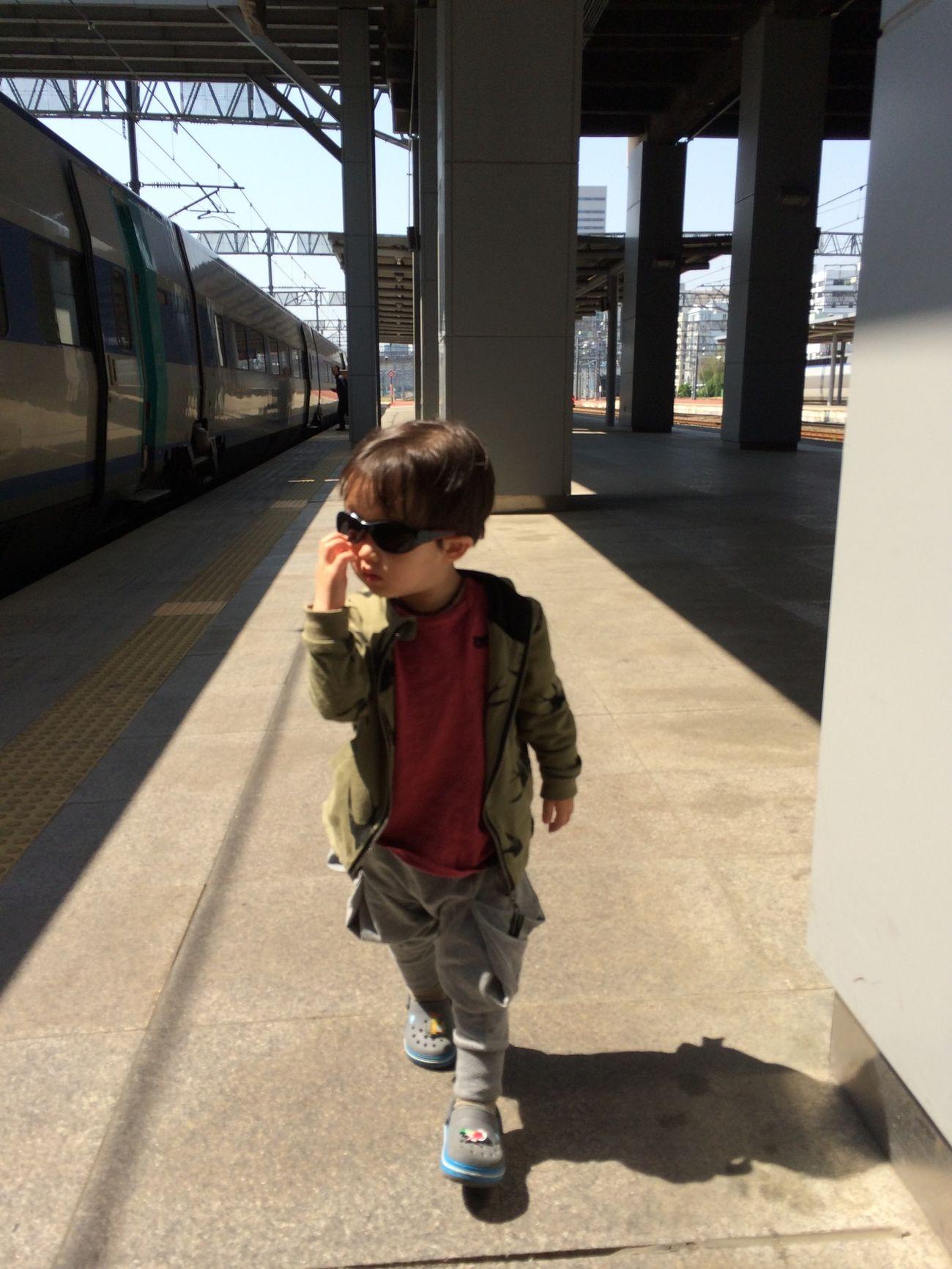 Train Station Hanging Out Taking Photos Enjoying Life
